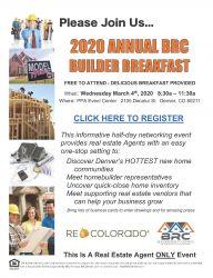 2020 Builder Breakfast Premium Booth